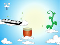 Music Ball - Music in the Sky Game