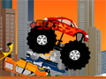 Monster Truck Destroyer Game