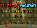Fireboy and Watergirl in the Forest Temple Game