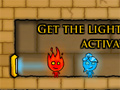 Fireboy and Watergirl 2 in the Light Temple Game