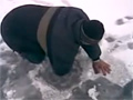 Ice Fishing In Russia video