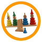 Balance and Stacking Games