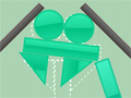 Gravity Stacker Game