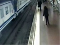 Hero Saves Man From Train video