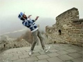 Dubstepping On Great Wall Of China video