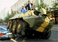 Vilnius Mayor Fights Illegally Parked Cars with Tank video