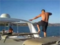 Boat Deck Jump Fail video